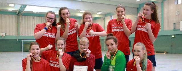 B-Juniorinnen Hallenkreismeister